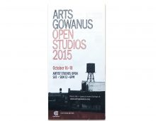 Arts Gowanus Open Studio Tour 2015 map